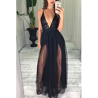 Sexy Black Prom Dresses Long, Dresses For Graduation Party, Evening Dress, Formal Dress, DT0494