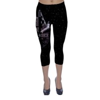 Star Wars Millennium Flacon Inspired Capri Leggings