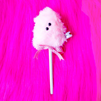 Lavinia fenton cotton candy hair stick // hair accessories, jewelery, fantasy, cute, sweet, cottoncandy, pink, fashion, girls