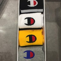 Champion Fashion 5 color of set Sock Style #189