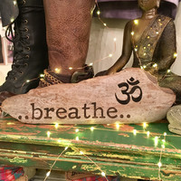 Breathe - Reclaimed Wood