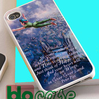 Peter Pan Quote 2 For Iphone 4/4s, iPhone 5/5s, iPhone 5C, iphone 6, and iPhone 6 Plus Case