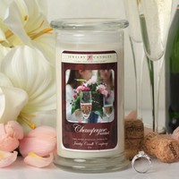 Champagne Jewelry Candle Wine Candle Collection