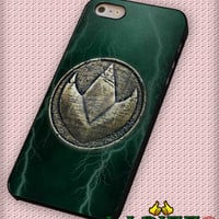 """B-Craft Green Ranger Dragonzord Coin for iPhone 4/4s, iPhone 5/5S/5C/6/6+, Samsung S3/S4/S5 Case """"005"""""""