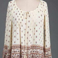 You'll Miss Me Top - Cream