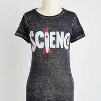 Nifty Nerd Mid-length Short Sleeves Blast Off but Not Least Tee