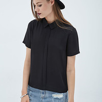 FOREVER 21 Classic Georgette Shirt