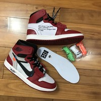 Jordan 1 Retro High Off-White Chicago AA3834-101