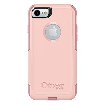 OtterBox COMMUTER SERIES Case for iPhone SE (2nd gen - 2020) and iPhone 8/7 (NOT PLUS) - Retail Packaging - BALLET WAY (PINK SALT/BLUSH), Single BALLET WAY (PINK SALT/BLUSH) Standard Packaging