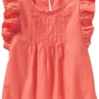 Old Navy Flutter Sleeve Tops For Baby