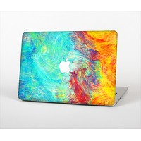 "The Vibrant Colored Messy Painted Canvas Skin Set for the Apple MacBook Pro 13""   (A1278)"