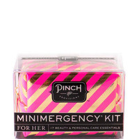 MINIMERGENCY KIT FOR HER IN PINK AND GOLD