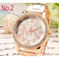 MICHAEL KOR WOMENS MENS ROSE GOLD WATCH MK5188 WATCHES