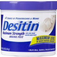 Desitin Maximum Strength Original Diaper Rash Paste - 4 oz