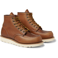 Red Wing Shoes - Rubber-Soled Leather Boots   MR PORTER