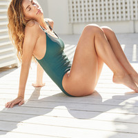 Out From Under Cutout Ring One-Piece Swimsuit | Urban Outfitters