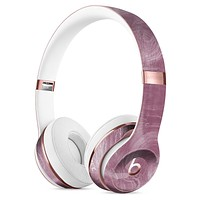 Pink Slate Marble Surface V15 Full-Body Skin Kit for the Beats by Dre Solo 3 Wireless Headphones