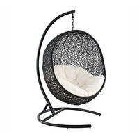 Hanging Cocoon Outdoor Chair with Stand