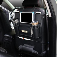 Car Back Seat Organizer - High Quality Leather