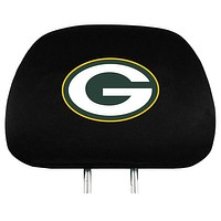 Green Bay Packers Premium Embroidered Headrest Covers