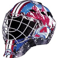 COLORADO AVALANCHE FULL SIZE YOUTH GOALIE HOCKEY MASK ** NEW **
