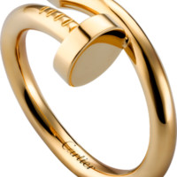 Juste un Clou ring: Juste un Clou ring, 18K yellow gold.