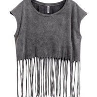 H&M Top with Fringe $19.95