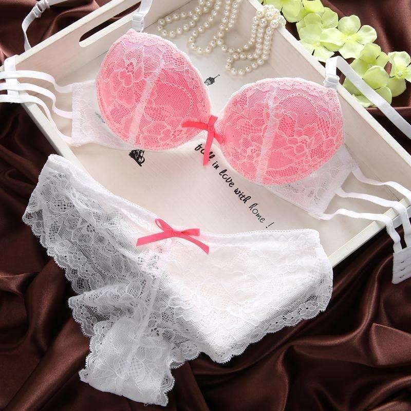 Image of The French Original lace Underwear-Bra Set