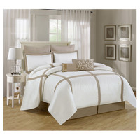 You should see this Watefront 8 Piece Comforter Set in Gold on Daily Sales!