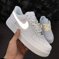 LV Louis Vuitton x Nike Air force 1 AF1 classic low-top men's and women's sneakers Shoes