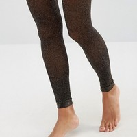 ASOS Glitter Footless Tights at asos.com