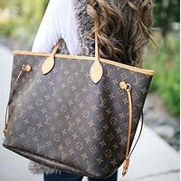 LV Louis Vuitton Neverfull GM Shopping Bag Handbag Shoulder Bag