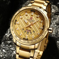 NAVIFORCE®™ LUXURY Golden Watch LIMITED EDITION - 50% OFF - SALE!