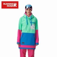 Women Snowboarding Hoodie High Quality Hooded Sports Snowboarding Jacket 5 Colors