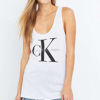 Calvin Klein White Tank Top