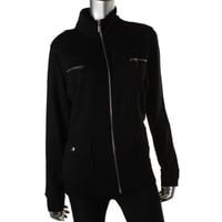 Style & Co. Womens Lightweight Fitness Athletic Jacket