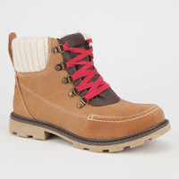 Roxy Sycamore Womens Boots Tan  In Sizes