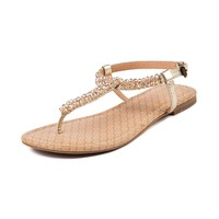 Womens Report Cari Sandal in Gold   Shi by Journeys