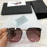 DCCK DIOR Women Men Personality Sun Sunglasses Glasses
