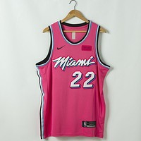 Men's Miami Heat Jimmy Butler Nike Sunset Vice Swingman Jersey