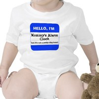 Cute Kids BLUE Name Tag Hello I'm (add your own)