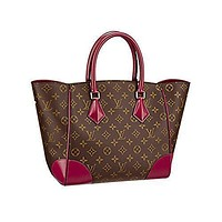 Tagre™ Authentic Louis Vuitton Monogram Canvas Phenix MM Bag Handbag Article: M41541 Made in