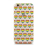 for iPhone 6/6S Plus - Super Slim Case - Lgbt Flag - Lgbt Pride - Gay Pride Day - Rainbow Gay - Love Is Love (C) Andre Gift Shop