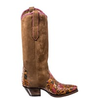 Liberty Boot Co. Caborca Muertos Ribbon Boots- size 7