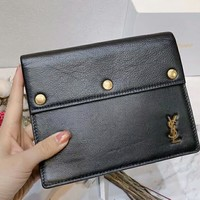 YSL Yves Saint Laurent 2018 New Women's Top Quality Leather Purse Messenger Bag F-AGG-CZDL