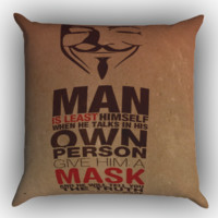 Oscar Wilde Quotes Zippered Pillows  Covers 16x16, 18x18, 20x20 Inches