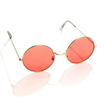 Salmon Circle Sunnies