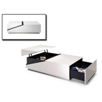 VIG Modrest Se152A - Modern Coffee Table W Storage Compartments In Grey