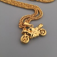 Gift Shiny New Arrival Stylish Jewelry Hot Sale Pendant Hip-hop Club Necklace [6542753539]