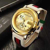'' GUCCI '' Ladies Men Watch Little Ltaly Stylish Watch